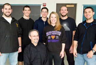 Professor Mitch Goldfarb and members of the Rising Phoenix Tai Chi Arts Club